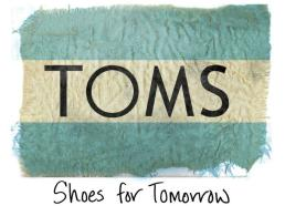 TOMS, TOMS shoes, nonprofit, one for one, day without shoes, blake mycoskie
